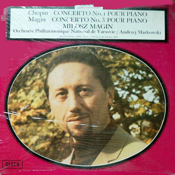 Milosz Magin Chopin : Concerto piano n°1