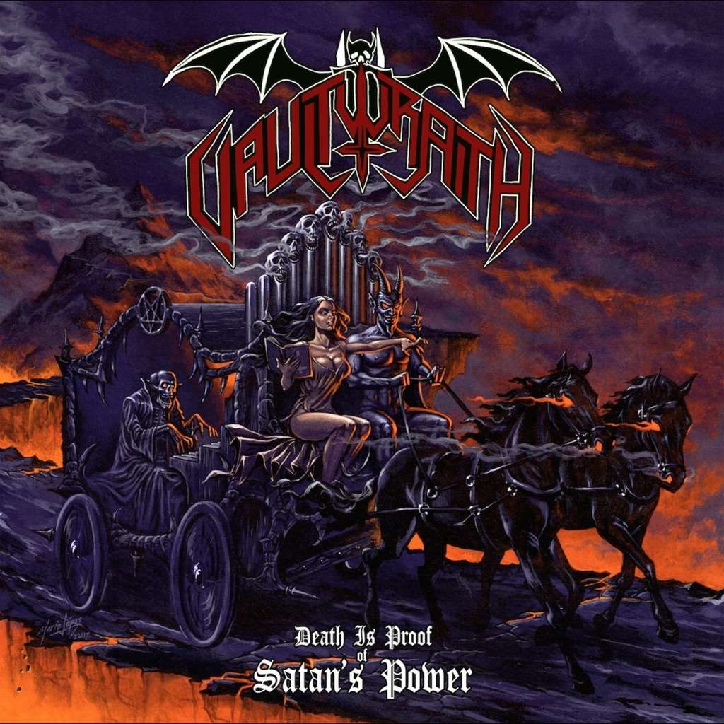 VAULTWRAITH Death Is Proof Of Satan's Power. Black Vinyl