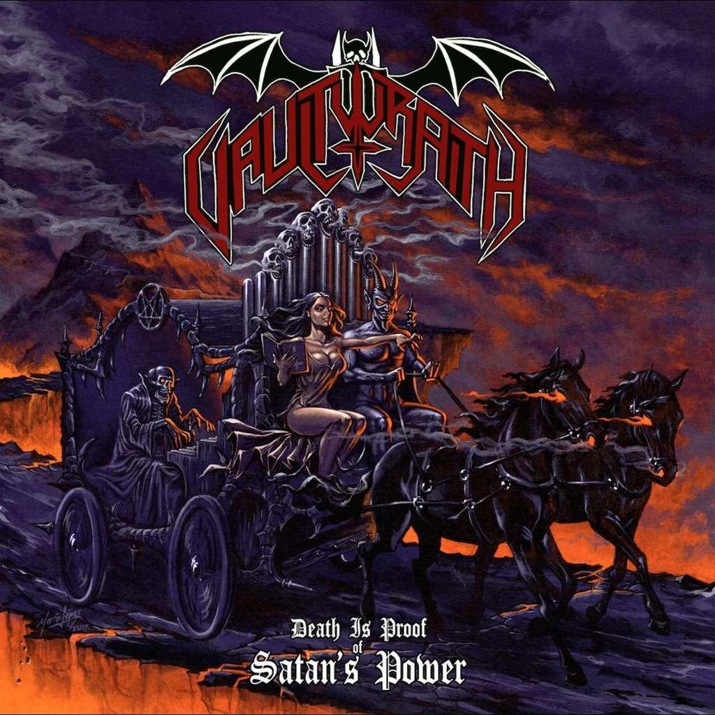 VAULTWRAITH Death Is Proof Of Satan's Power. Splatter Vinyl
