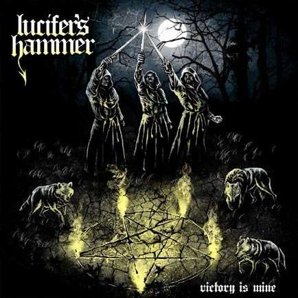 LUCIFER'S HAMMER Victory Is Mine. Black Vinyl