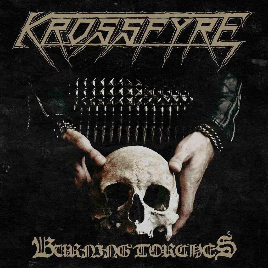 KROSSFYRE Burning Torches. Gold Vinyl