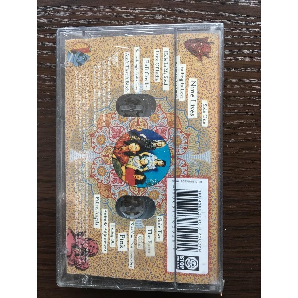 Aerosmith, sealed cassette Nine Lives