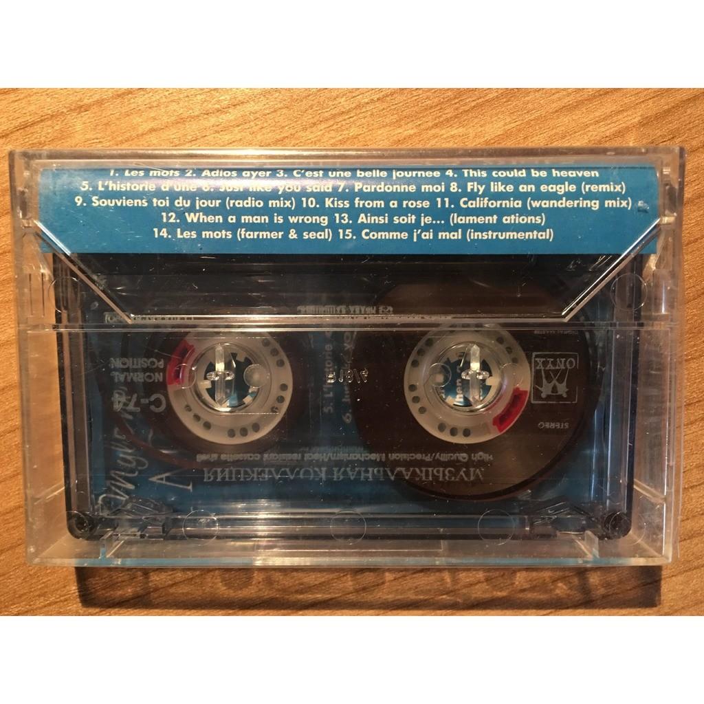 Mylene Farmer, sealed cassette Les mots
