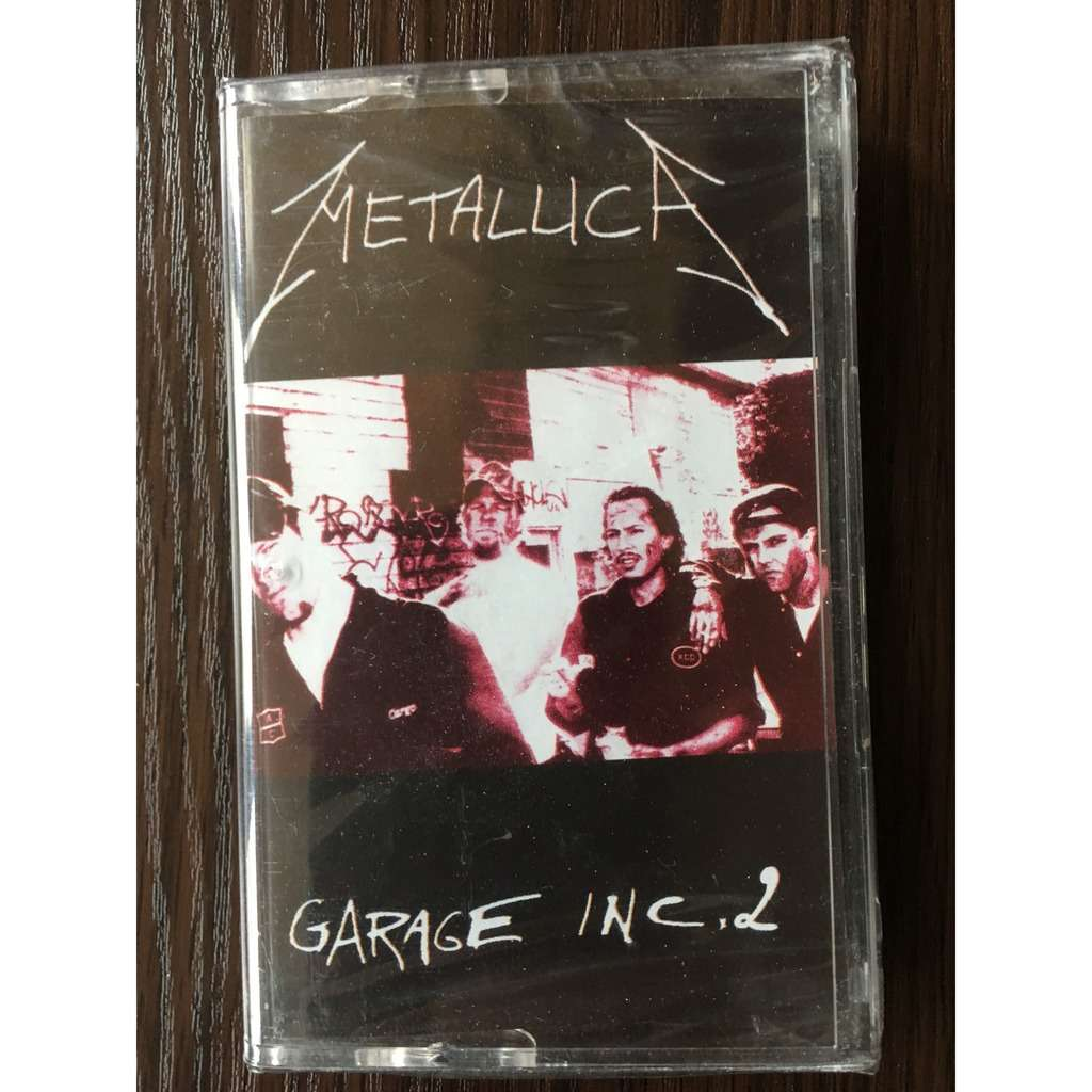Metallica, sealed cassette Garage Inc, 2