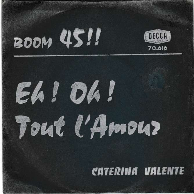 VALENTE CATERINA Eh ! Oh ! ' maracanghala ' / tout l'amour ( passion flower ) [hors commerce]