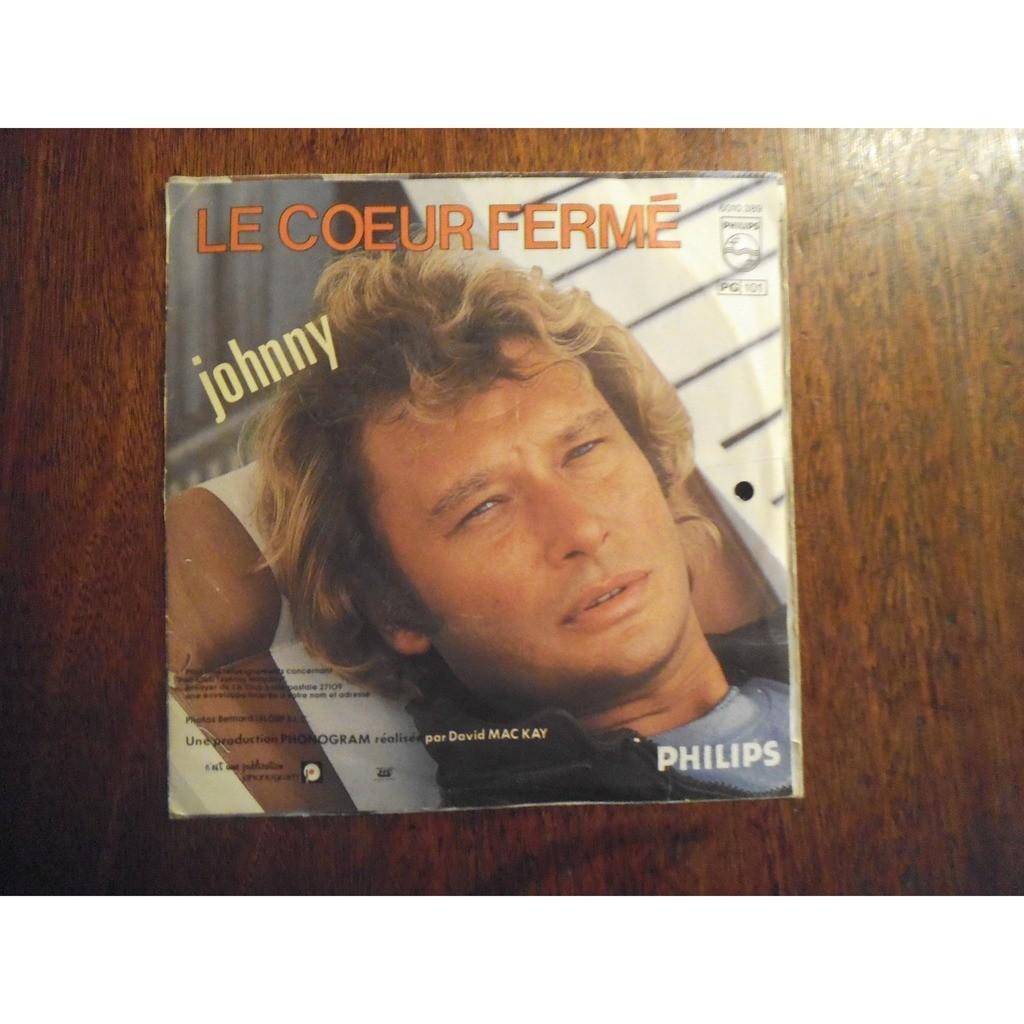 JOHNNY HALLYDAY JE T' AI AIMEE / LE COEUR FERME