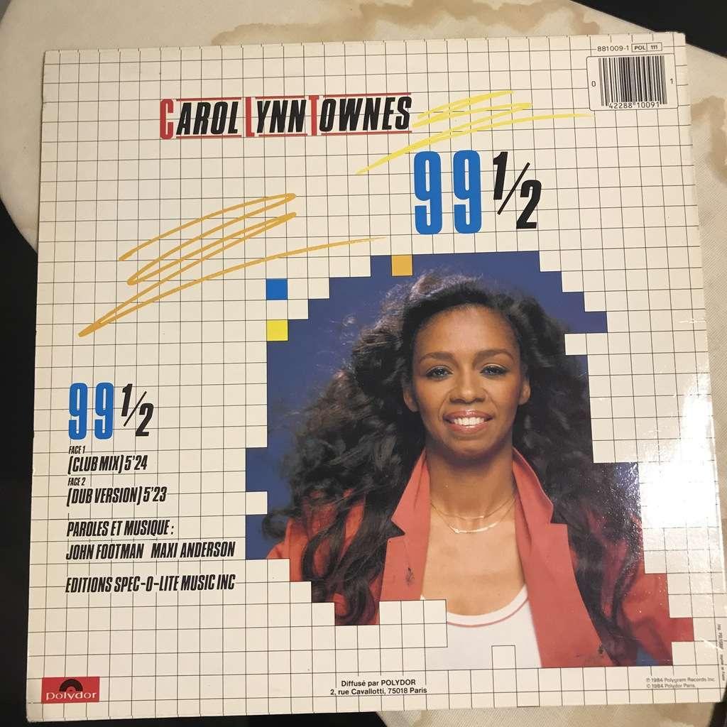 CAROL LYNN TOWNES 99 1/2 / dub