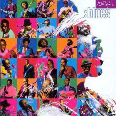 Jimi Hendrix Blues (USA 1998 original Ltd No'd 11-trk 2LP BLU vinyl gf ps+booklet!! Sealed copy!!)