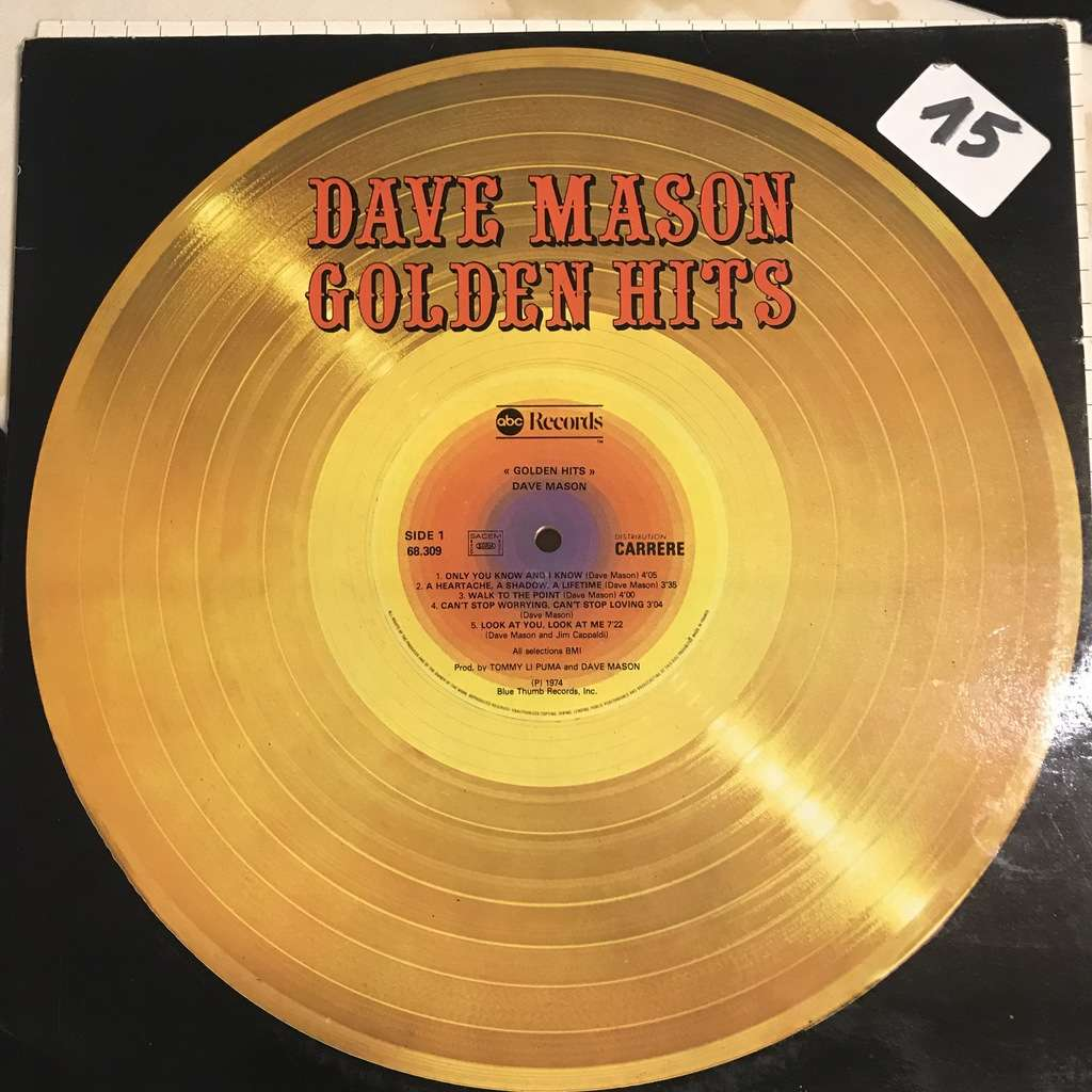 Dave MASON Golden hits