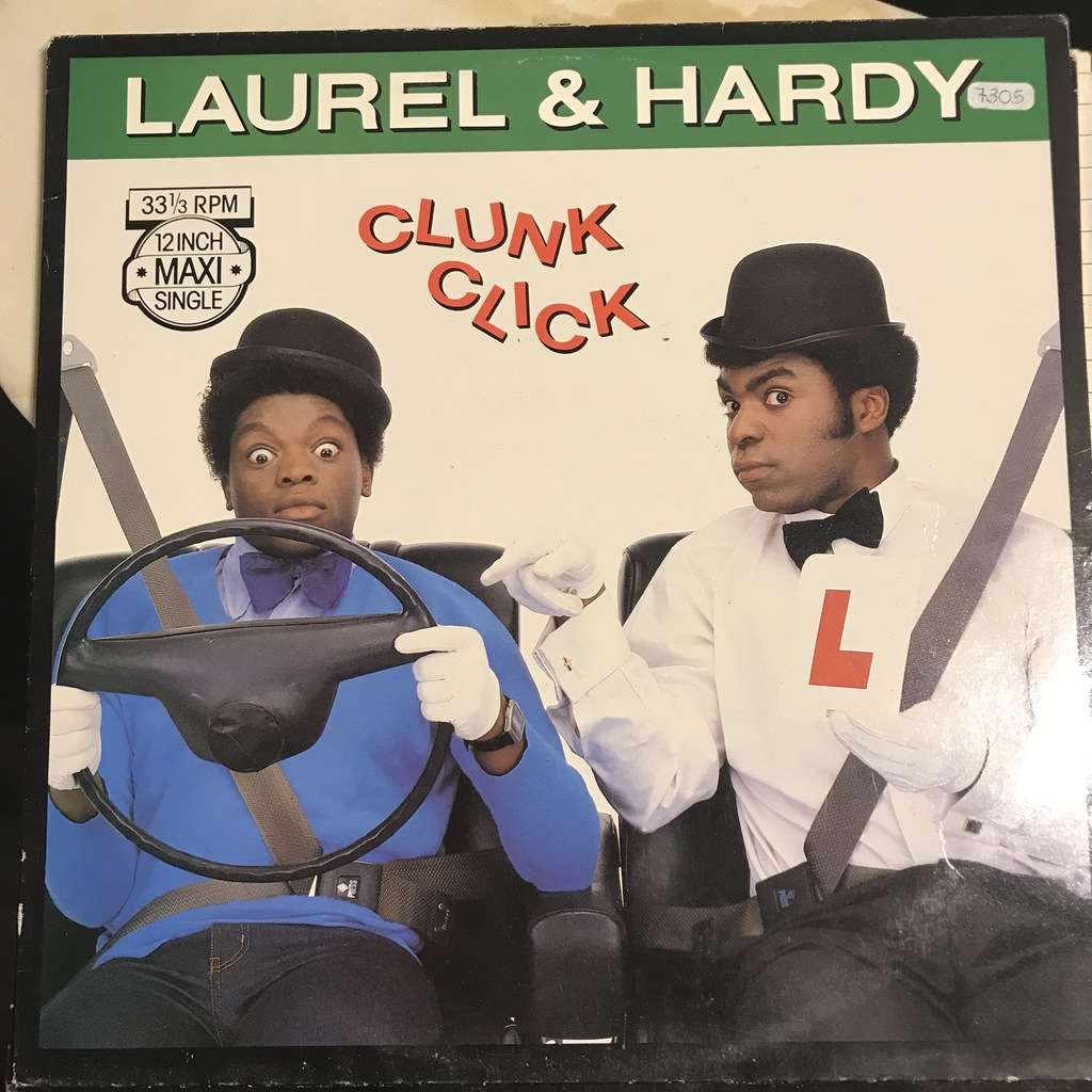 LAUREL & HARDY clunk click / you're nicked