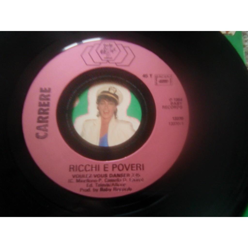 Ricchi & Poveri* - Voulez Vous Danser (7, Single) Ricchi & Poveri* - Voulez Vous Danser (7, Single)