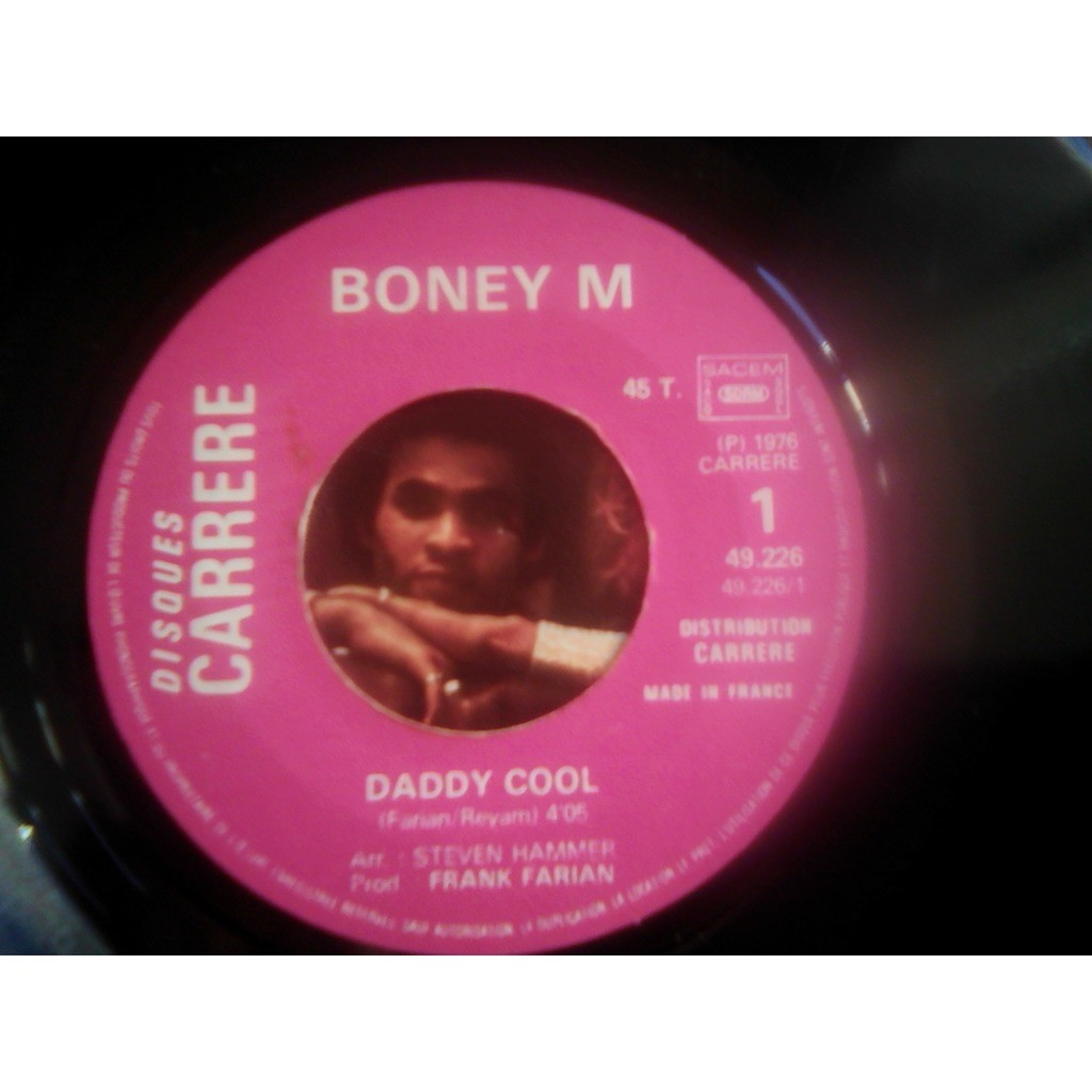Boney M. - Daddy Cool (7, Single) Boney M. - Daddy Cool (7, Single)