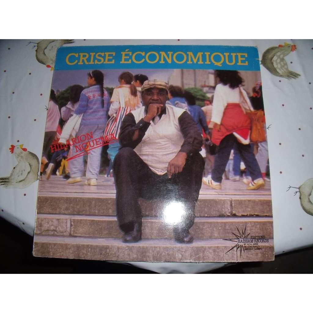 hilarion nguema crise économique
