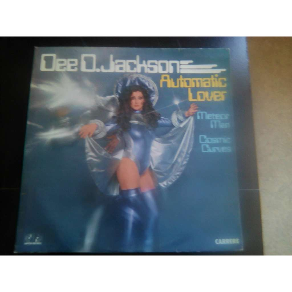 Dee D. Jackson - Automatic Lover (LP, Album) Dee D. Jackson - Automatic Lover (LP, Album)
