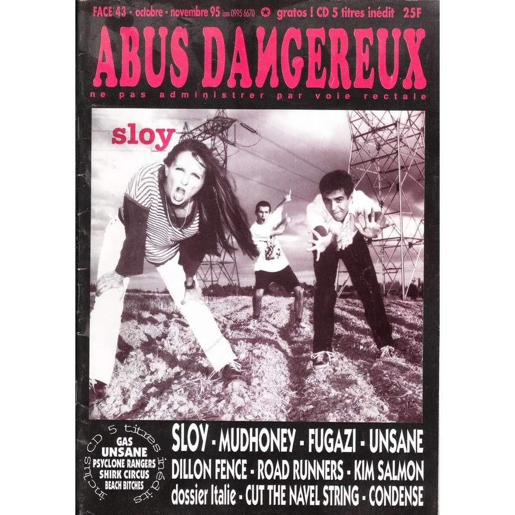 abus dangereux Face 43-octobre-novembre 95