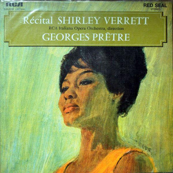 Shirley Verrett récital