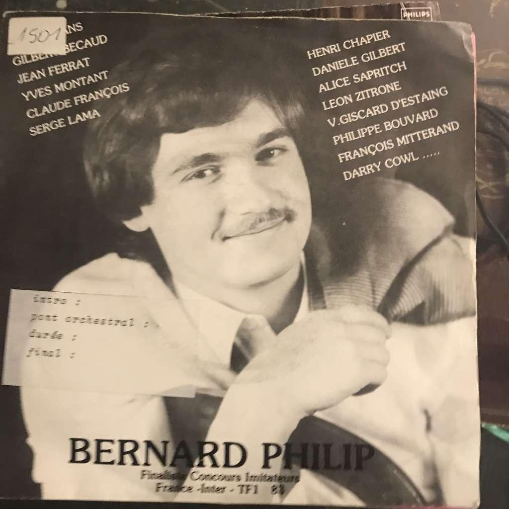 BERNARD PHILIP LES ETOILES DU CINEMA - LES CERISIERS SONT BLANCS-C EST BEAU LA VIE-LES PLAINES DU FAR WEST-LE VAGAB