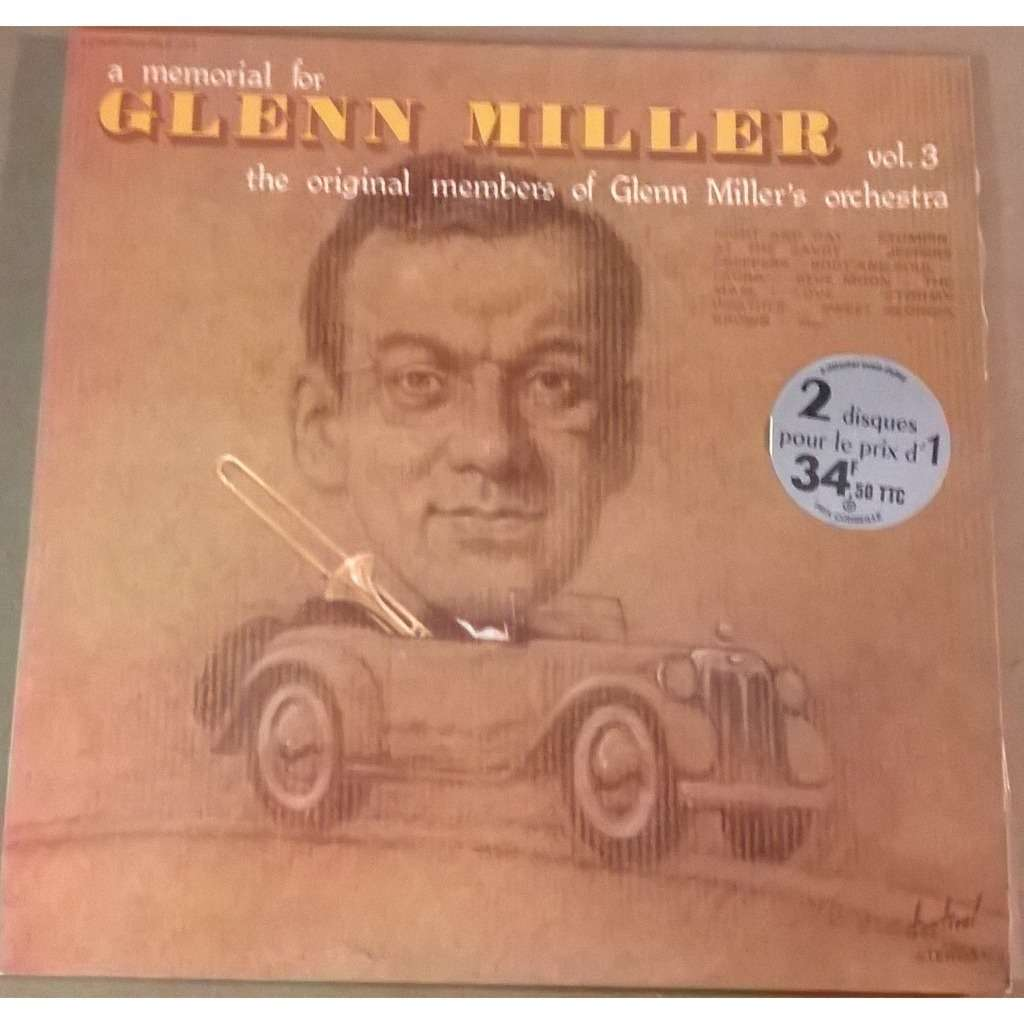 Glenn Miller's Orchestra A Memorial For Glenn Miller Vol. 3