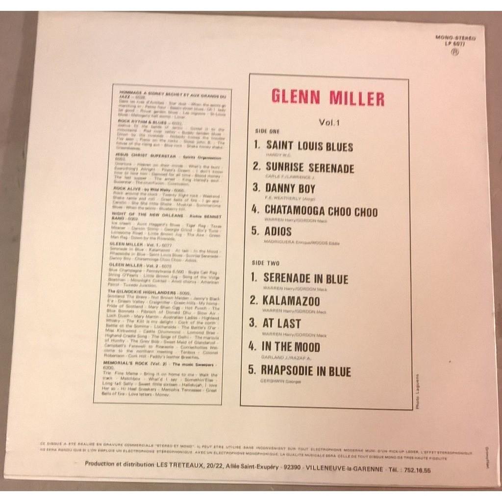 Glenn Miller Hommage à Glenn Miller Vol 1