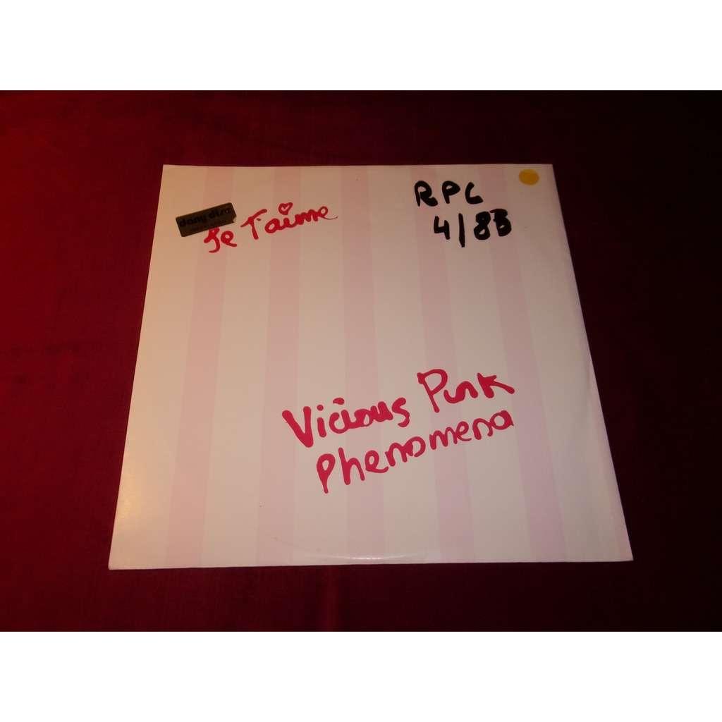 VICIOUS PINK PHENOMENA JE T'AIME ( MOI NON PLUS ) / MANIAC