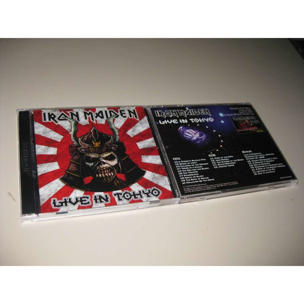 IRON MAIDEN LIVE IN TOKYO 2016 + BONUS 1986
