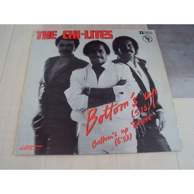 the chi lites bottom's up (Vocal 5'16) 1983 FRANCE (MAXIBOXLP)