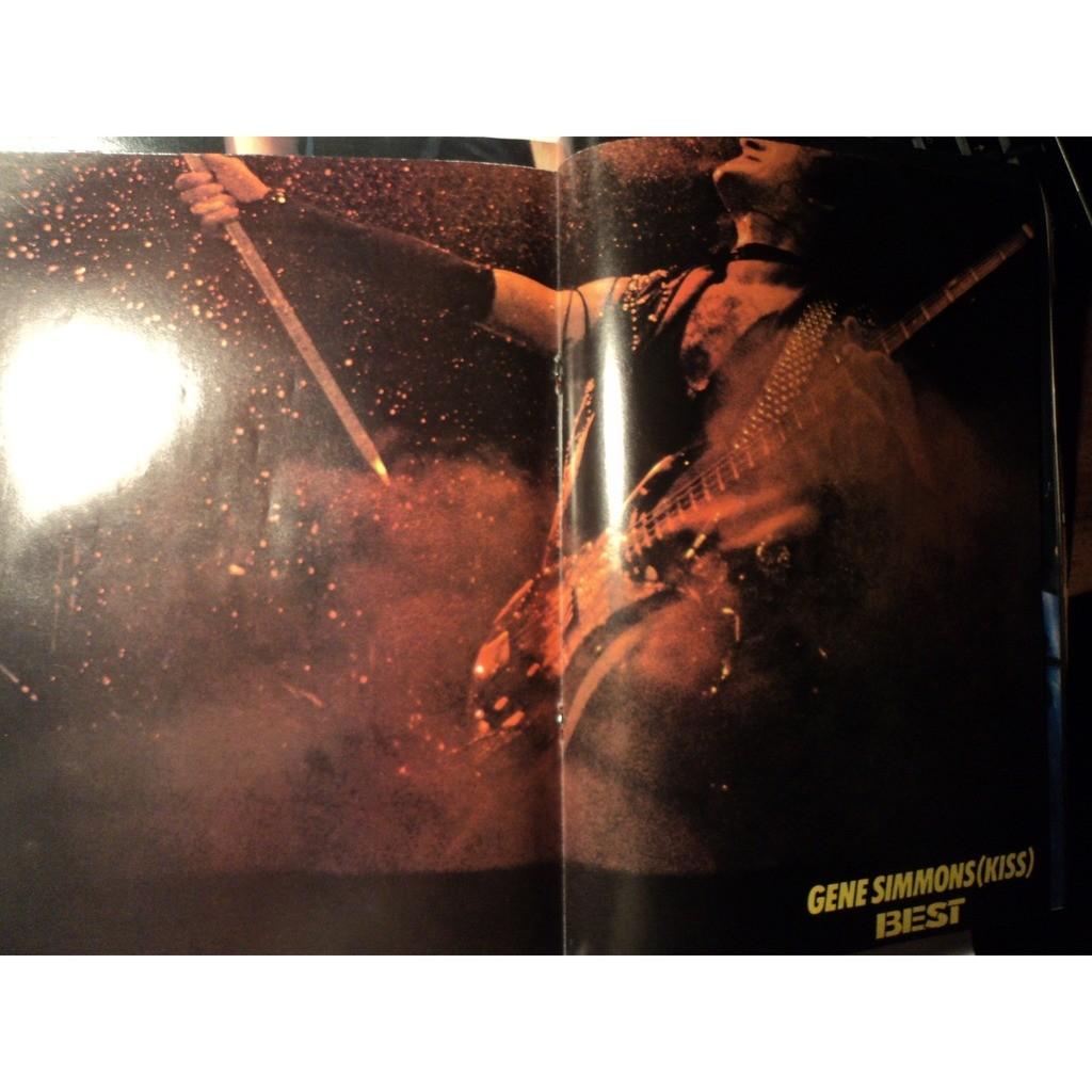 pat benatar poster GENE SIMMONS ( KISS) /C. LAUP BEST MAGAZINE No 197