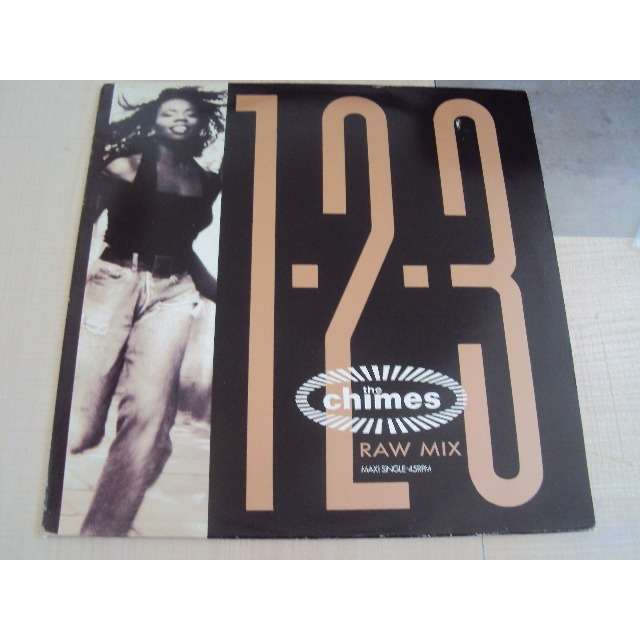 THE CHIMES 1-2-3 (RAW MIX) 1989 HOLLANDE (MAXIBOXLP)
