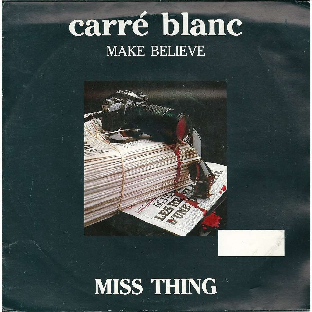 Miss Thing Make believe - BOF Carré blanc
