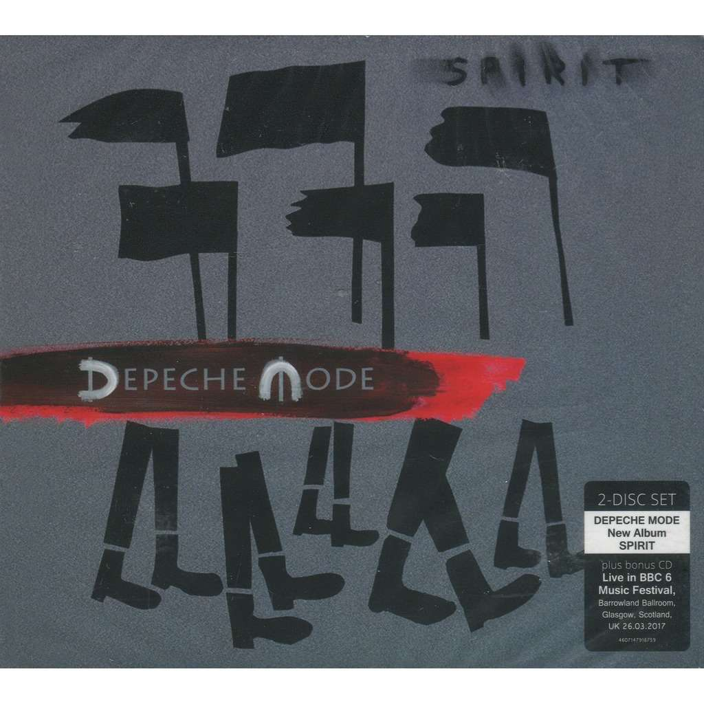 otroliga priser super kvalitet Fabriks Outlet Spirit / live bbc 6 music festival by Depeche Mode, CD x 2 with ...