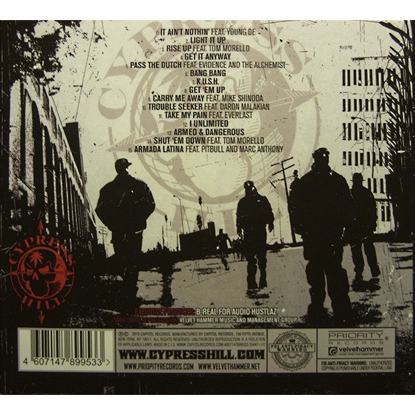 Rise up cd+dvd by Cypress Hill, CD x 2 with herckgv