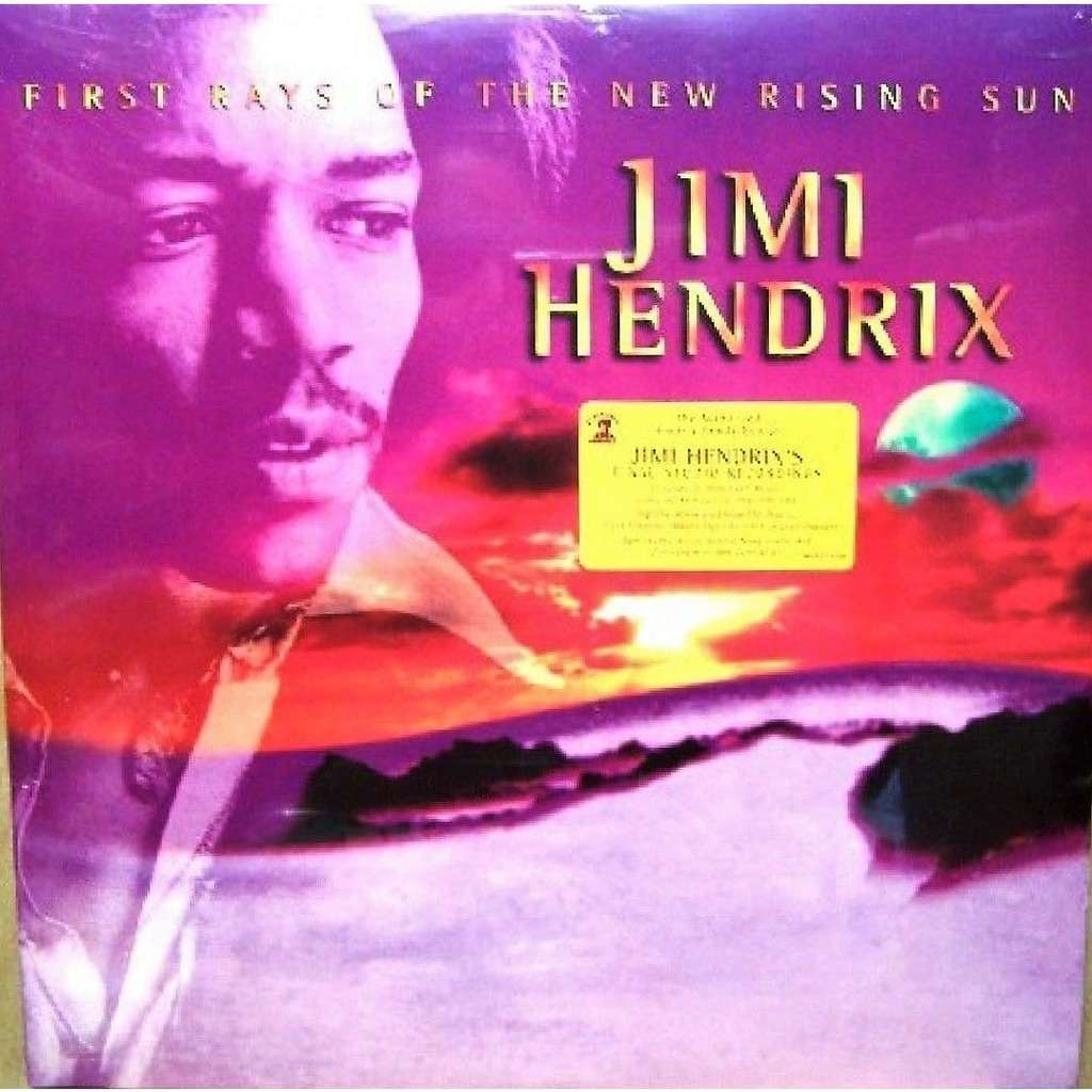 Jimi Hendrix First Rays Of The New Rising Sun (USA 1997 Ltd 5000 no'd copies 2LP gf ps+book! Sealed & stickered!)