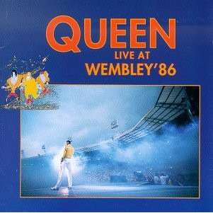 Queen Live at Wembley '86 Blue Vinyl Gatefold