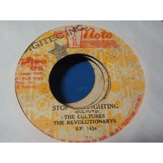 THE CULTURES / THE REVOLUTIONARYS STOP THE FIGHTING / FUSSY DUB ORIG.