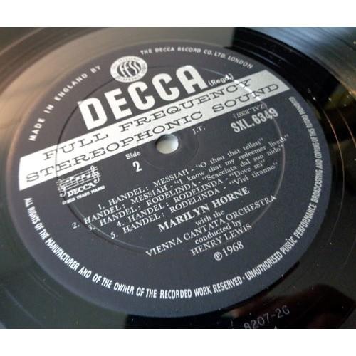 MARILYN HORNE & HENRY LEWIS Sings BACH HAENDEL