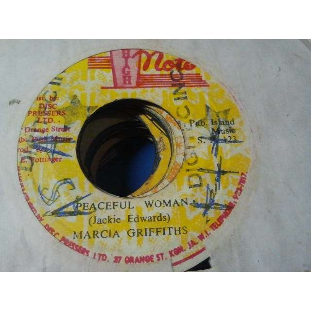 MARCIA GRIFFITHS / THE REVOLUTIONARYS PEACEFUL WOMAN / VERSION ORIG.
