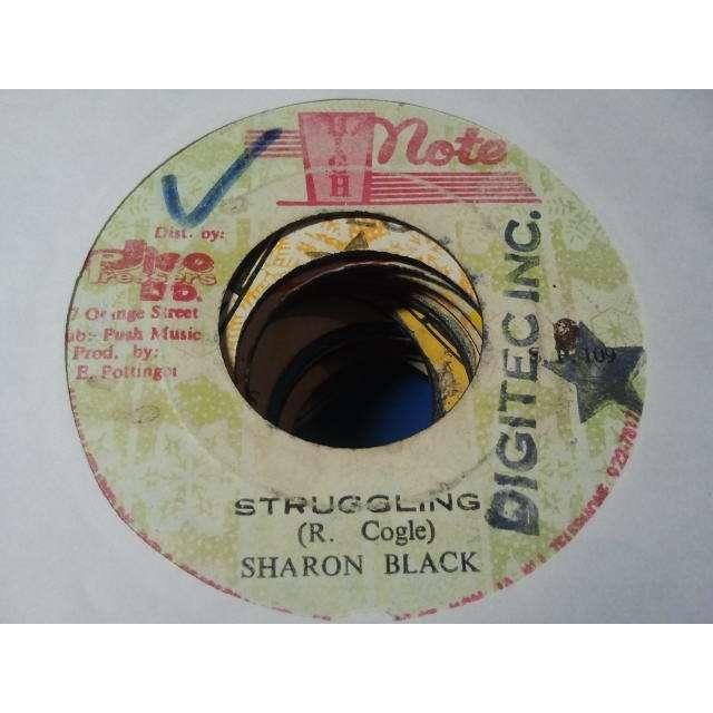 SHARON BLACK / ALL STAR BAND STRUGGLING / STRUGGLING DUB ORIG.