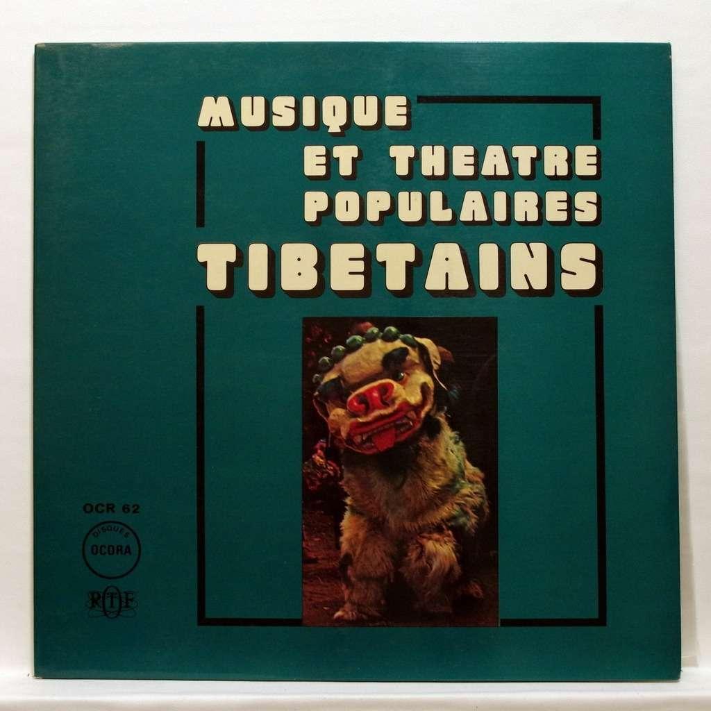 Musique et théâtre populaires tibétains Musique et théâtre populaires tibétains - Tibetan popular music & theatre