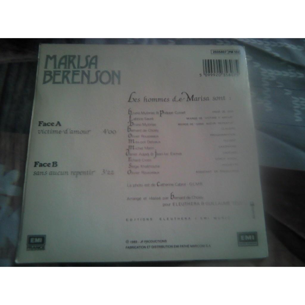 Marisa Berenson - Victime D'amour Marisa Berenson - Victime D'amour
