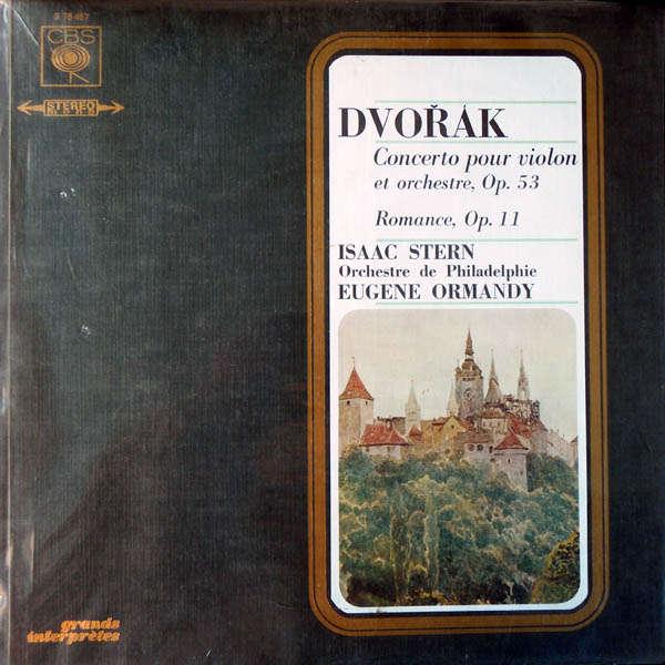 isaac stern Dvorak : concerto pour violon