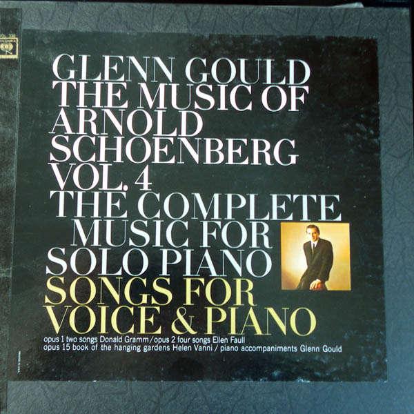 glenn gould Arnold Schoenberg Vol.4