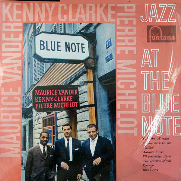 maurice vander trio Jazz at the blue Note