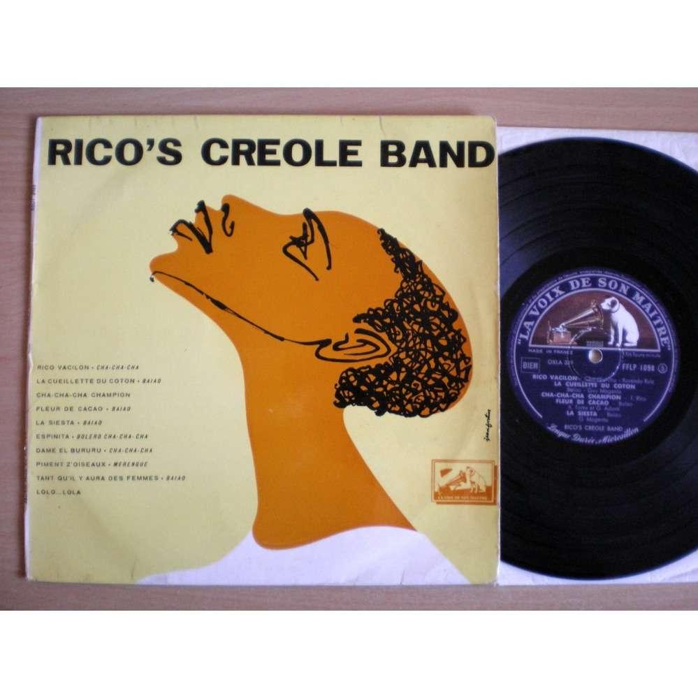 Rico's Creole Band S/t - Rico Vacilon +9