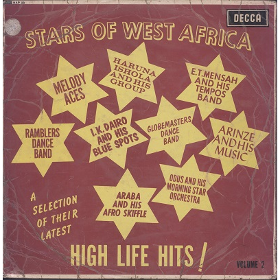Stars Of West Africa (various) High Life Hits ! VOL.2