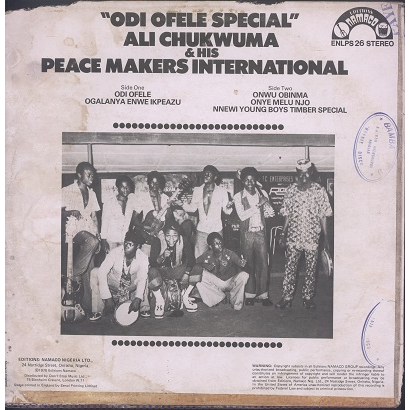 Ali Chukwuma & his Peace Makers International Odi ofele special