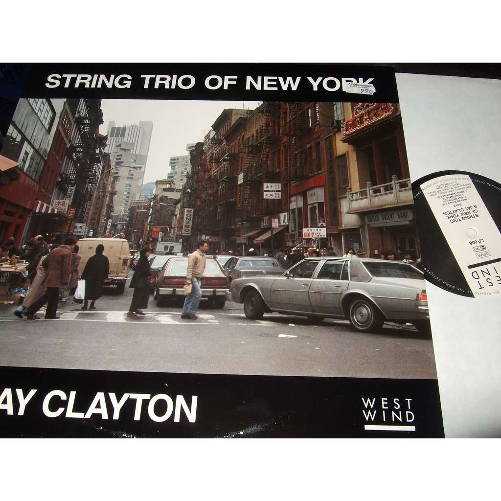String Trio Of New York Jay Clayton Lindberg Emery String Trio Of New York & Jay Clayton