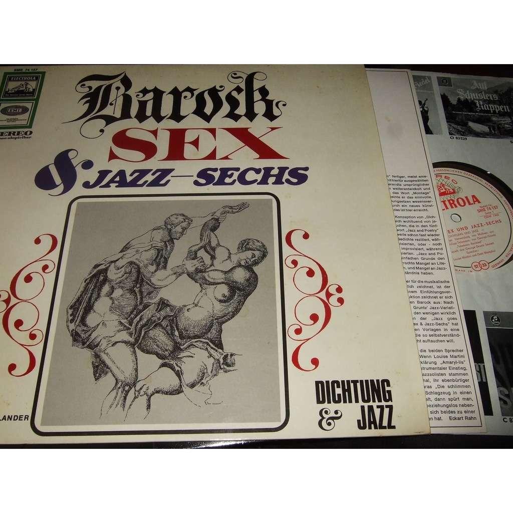 George Gruntz A. Mangelsdorff Ponty Favre G. Lenz Barock Sex & Jazz-Sechs