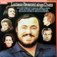 luciano pavarotti sings duets