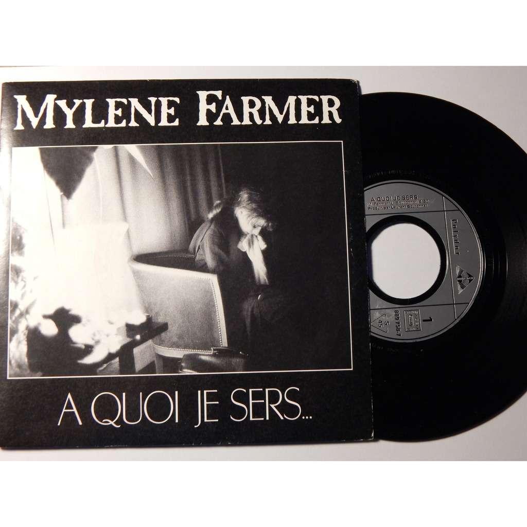Mylene Farmer A quoi je sers...