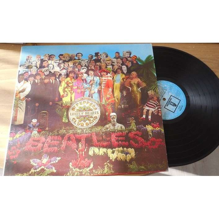 beatles *sgr peppers lonely hearts club band